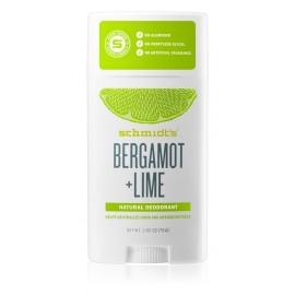 Schmidt's Déodorant Stick Bergamot Lime