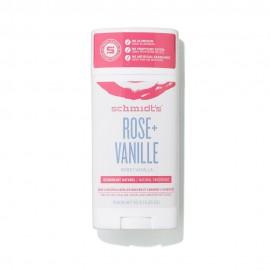Schmidt's Déodorant Stick Rose Vanilla