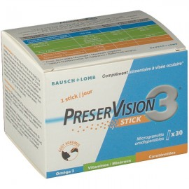 PreserVision 3 sticks – Boîte de 30