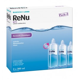 RENU MPS Solution Multifonction - Pack ECO 3x 360 ml