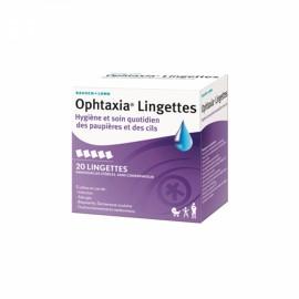 Ophtaxia lingettes – boite de 20