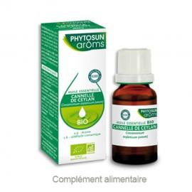 Phytosun Aroms Huile essentielle de Cannelle de Ceylan – Flacon 5 ml