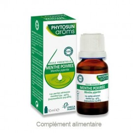 Phytosun Aroms Huile essentielle de Menthe poivrée – Flacon 10 ml