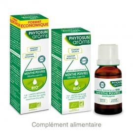Phytosun Aroms Huile essentielle de Menthe poivrée – Flacon 30 ml