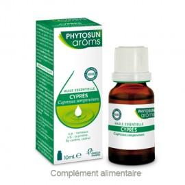 Phytosun Aroms Huile essentielle de Cyprès – Flacon 10 ml