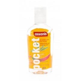 ASSANIS Gel hydro-alcoolique Mangue pocket – 80 ml