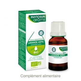 Phytosun Aroms Huile essentielle de Lavande aspic bio – Flacon 10 ml