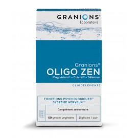 Granions Oligo Zen - 60 gélules