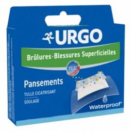 URGO Brûlures Waterproof – 4 pansements