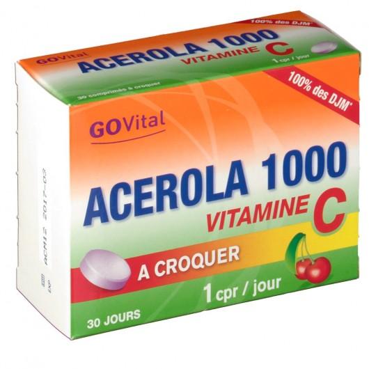 go vital acerola 1000
