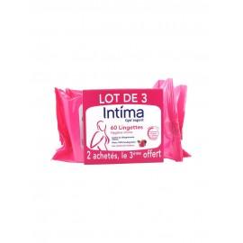 Intima lingettes cranberry individuelles