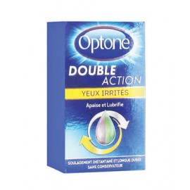Optone double action yeux irrités