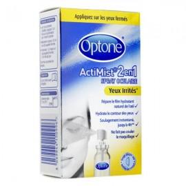 Optone spray actimist yeux irrités