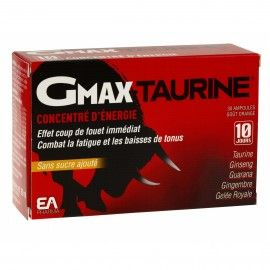 Eafit gmax taurine ampoules buvables