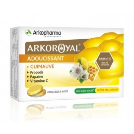 Arkoroyal adoucissant guimauve -  24 pastilles