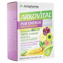 Arkovital Pur'Energie multivitamines Expert  – 60 gélules