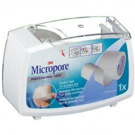 3M Micropore Sparadrap dévidoir