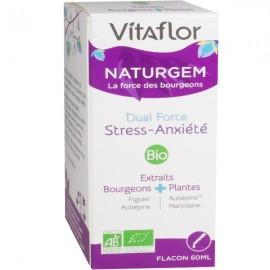 Vitaflor Naturgem Dual Force Stress Anxiété – 60 ml