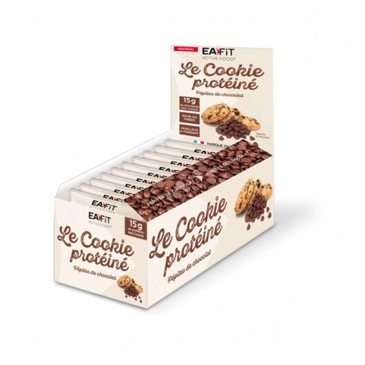 Boîte de 10 Cookie protéiné pépites de chocolat