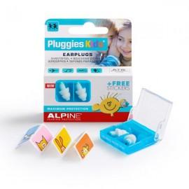Alpine Pluggies Kids bouchons d'oreilles