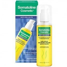Somatoline huile sérum anti-cellulite tube 125ml