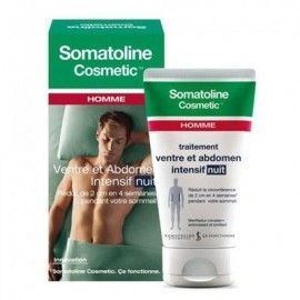 Somatoline Homme ventre et abdomen intensif nuit gel crème tube 150ml