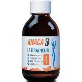 ANACA3 Draineur 4 en 1 flacon de 250ml