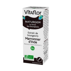 Vitaflor Extrait de bourgeon Bio Marronnier d'Inde Gouttes buvables - 15ml