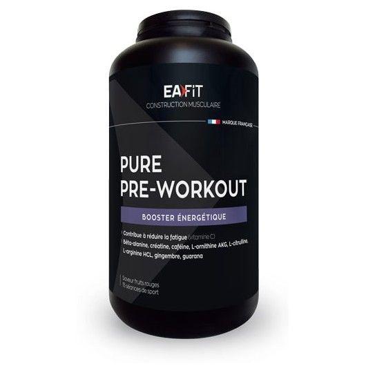 Eafit Pure Pre-workout 330g fruits rouges