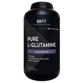 EAFIT Pure L-Glutamine 243g - Saveur orange