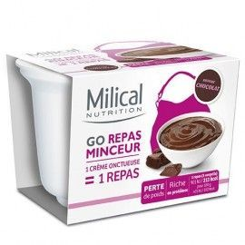 Milical GO coupelle repas chocolat