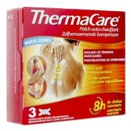 ThermaCare Patch auto-chauffant Multizones – 3 Patchs
