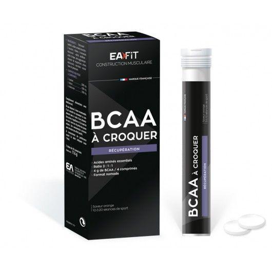 BCAA à croquer 40 comprimés