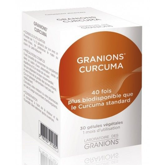 Granions Curcuma 200mg - 30 gélules