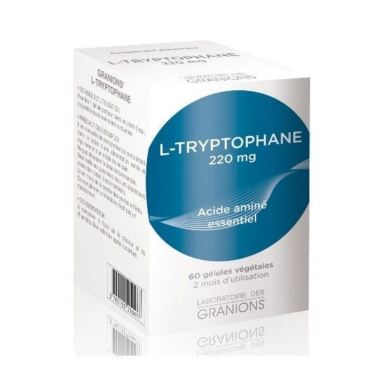 Granions L-tryptophane 220mg - 60 gélules