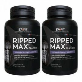 EAFIT  Ripped max cla 3000 Lot de 2x60 capsules