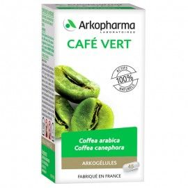 Arkogélules Café vert 45gel