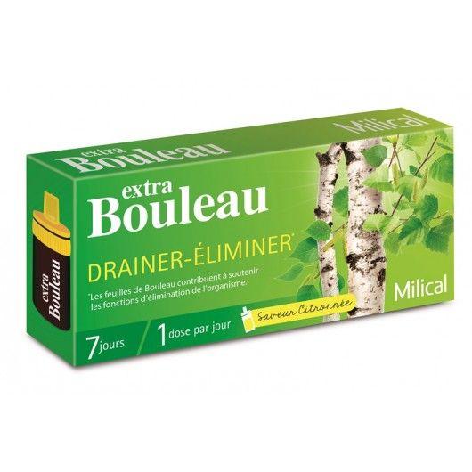 MILICAL extra Bouleau fioles