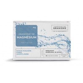 Granions Magnésium - 30 ampoules