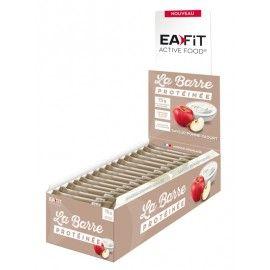 Eafit La Barre Protéinée Pomme Yaourt – Présentoir de 24 barres