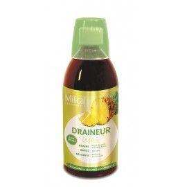 Milical draineur ultra ananas boisson – Flacon 500 ml