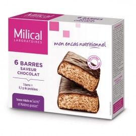 Milical Barre HP Chocolat  – 6 barres