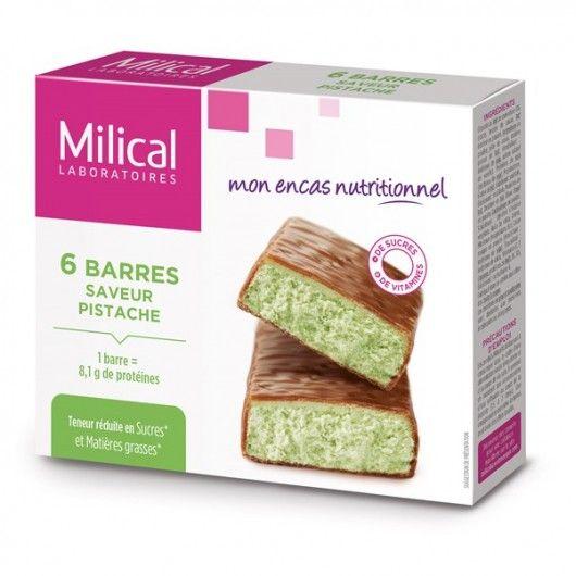 Milical Barre HP Chocolat pistache