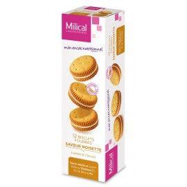 Milical Biscuits fourrés saveur noisette