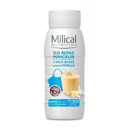 MILICAL GO REPAS A BOIRE MINCEUR Vanille