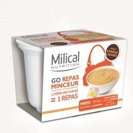 Milical GO coupelle repas vanille caramel