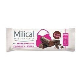 Milical Bipack Barres Go Repas Minceur Saveur Chocolat