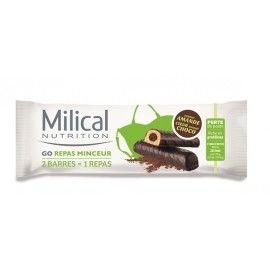MILICAL GO BARRES REPAS MINCEUR amande chocolat