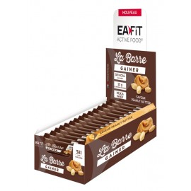 Eafit La Barre Gainer Peanut butter  16 barres