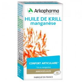 Arkogélules Huile de krill et Manganèse – 45 gélules